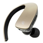 Q2 Stereo Bluetooth Ear Ear Single Earphone w / Mic - Champagne Gold