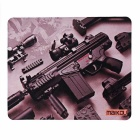 MAIKOU 180 * 220mm Submachine Gun Pattern Mouse Pad Mat - Brun