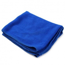 ZIQIAO CZ-55 Microfiber Car Wash Towel - Blue (30 x 30cm)
