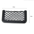 Stockage Mesh ZIQIAO CZ-02 Automobile Car Bag Box - Noir (15 x 8cm)