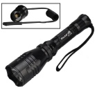 Flashlight ricaricabile RichFire SF-55B Green 250lm 1-maniera CREE XPE-R2-Nero (1 * 18650)