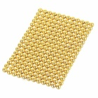 216PCS 3mm NdFeB Magnet Magnetic Beads pädagogisches Spielzeug - Goldene