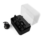 Syllable D900 Wireless Bluetooth Sports Earphones - Black + Light Grey