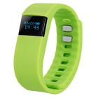 Smart-Silicone-Bluetooth-Bracelet-w-Health-Monitoring-2b-More-Green