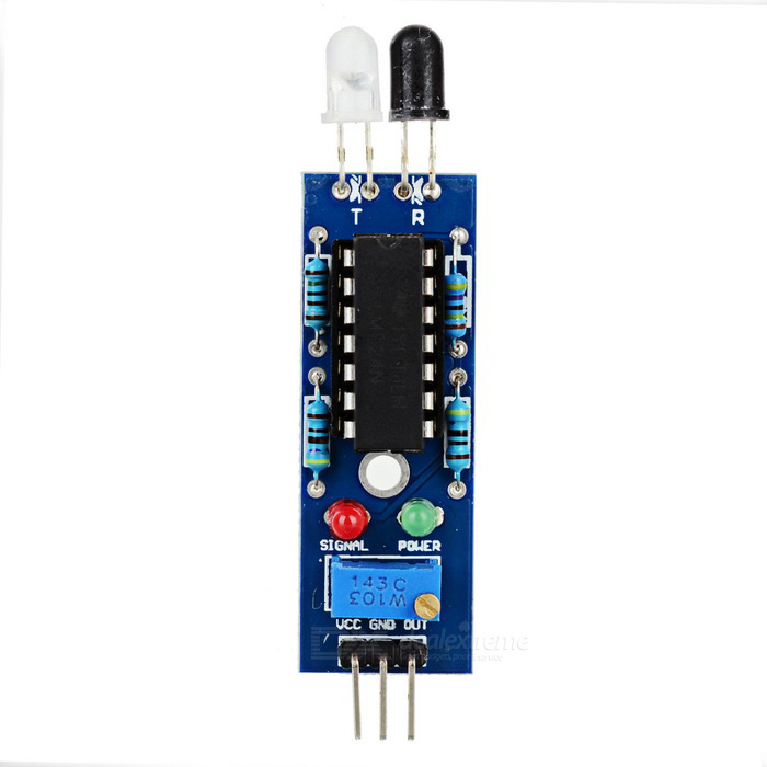 IR Obstacle Avoidance Sensor Line Tracking Module for Arduino - Blue