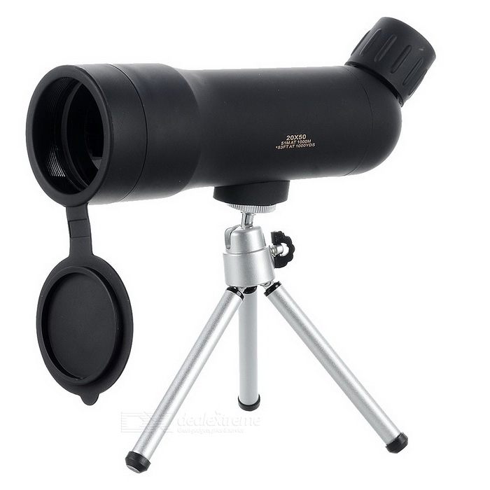20X50 Outdoor Spotting Scope Monocular Telescope - Army Green + BlackBinoculars And Telescopes<br>Form ColorArmy Green + BlackModel-Quantity1 DX.PCM.Model.AttributeModel.UnitMaterialABSBest UseRock Climbing,Backpacking,Mountaineering,TravelFeatureOthers,Ordinary telescopeMagnificationOthers,20XObjective Diameter50cmWater ResistantNoExit Pupil Diameter2.6mmEye Relief9mmPrism TypeRoofVisible Angle78/1000mFocus SystemCenterCertificationCEPacking List1 x Spotting Scope1 x English user manual1 x Cleaning cloth1 x Holder1 x Hand bag1 x Satchel<br>
