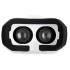"Virtual Reality 3D Glasses for 3,5 til 6,2 ""telefoner - hvit"