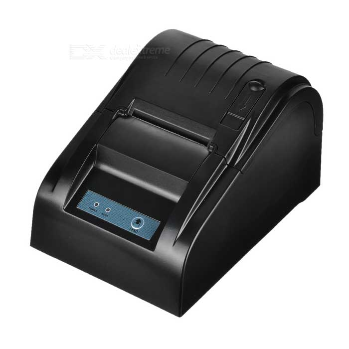Buy POS-5890T 58mm USB Thermal Cash Receipt Printer - Black with Litecoins with Free Shipping on Gipsybee.com