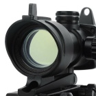 1X 32mm Mil-dot Rifle Gun Scope pour M16, G3 - Noir