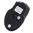Rechargeable Mute 1000/1200/1600dpi Bluetooth Wireless Mouse - Black