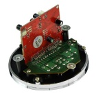 "1.3 ""LCD 5V Round Digital Audio MP3-soitin Module - Musta"