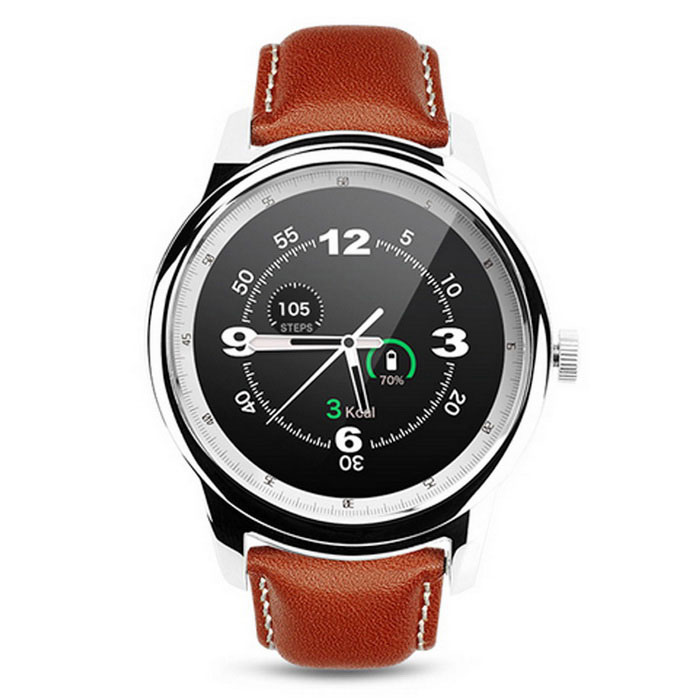 DM365 Bluetooth Smart Watch w/ Full HD IPS - Brown