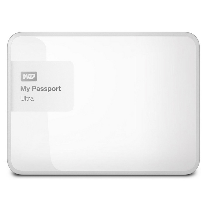 WD 2TB Blanco My Passport Disco duro externo ultra portátil-USB 3.0