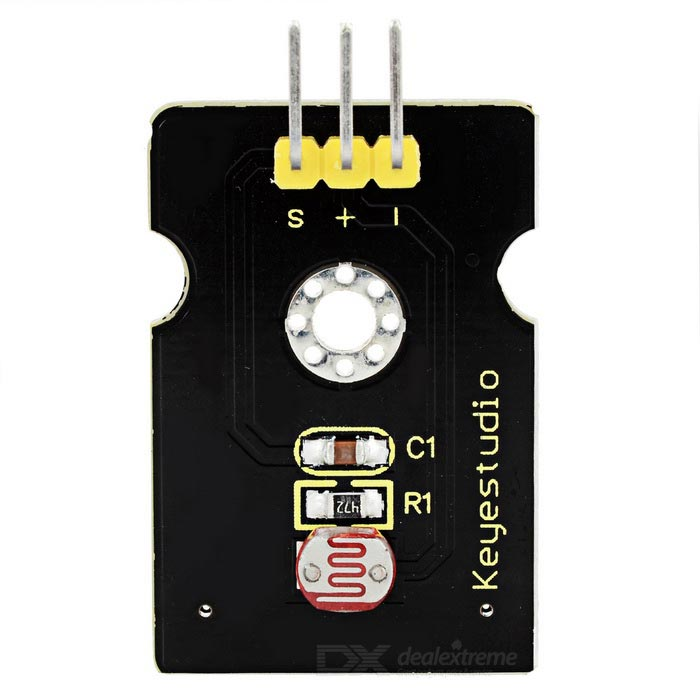 Keyestudio TS-16 Photo Resistor Module for Arduino - Black