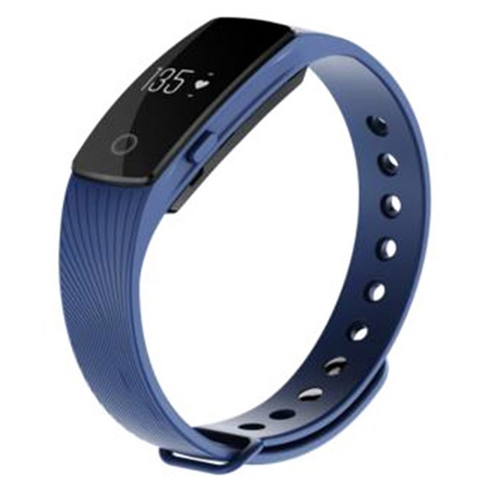ZS107 Green Light LED Bluetooth V4.0 Smart Bracelet - Sapphire BlueSmart Bracelets<br>Form  ColorSapphire BlueModelZS107Quantity1 DX.PCM.Model.AttributeModel.UnitMaterialABSShade Of ColorBlueWater-proofOthers,Daily water resistantBluetooth VersionBluetooth V4.0Touch Screen TypeNoOperating SystemNoCompatible OSAndroid 4.4 and above<br>iOS 7.1 and aboveBattery Capacity70 DX.PCM.Model.AttributeModel.UnitBattery TypeLi-polymer batteryStandby Time360 DX.PCM.Model.AttributeModel.UnitOther FeaturesMain control chip: Nordic nRF51822; Sensor: kionix kx022-1020; Heart rate sensor: Silicon labs Si1142; Ultra long standby time with low power consumption: &gt; 15 daysPacking List1 x Smart bracelet1 x Charging cable (30cm)1 x Chinese / English user manual<br>