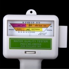 Water Quality PH / CL2 Tester Level Meter för Pool / spa