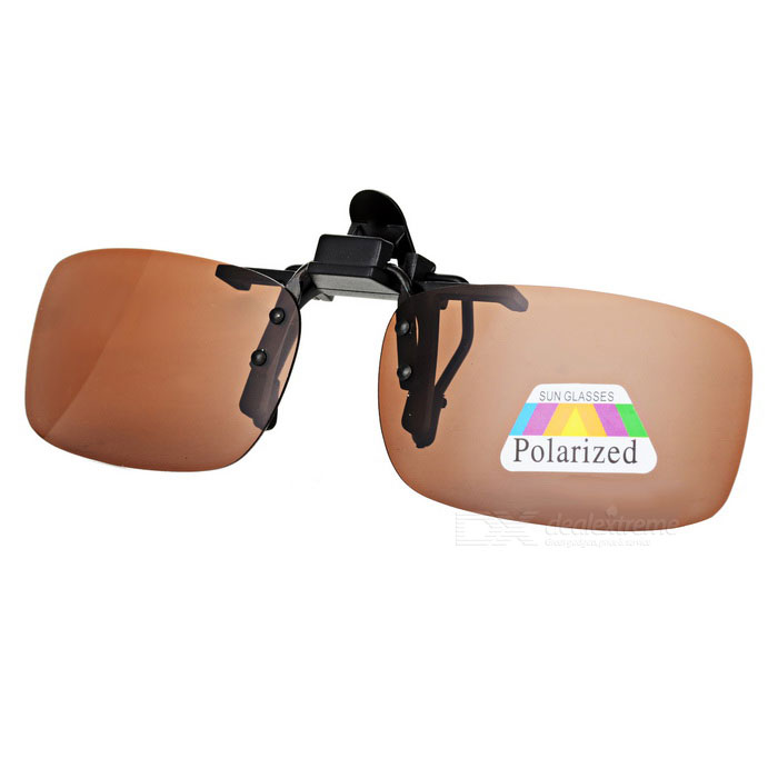 UV400 Protection Sunglasses Polarized Lenses - Black + Tawny (S)Sunglasses<br>Frame ColorBlackLens ColorTawnyQuantity1 DX.PCM.Model.AttributeModel.UnitShade Of ColorBrownFrame MaterialPlasticLens MaterialResinProtectionUV400GenderUnisexSuitable forAdultsFrame Height3.2 DX.PCM.Model.AttributeModel.UnitLens Width5.5 DX.PCM.Model.AttributeModel.UnitBridge Width2.2 DX.PCM.Model.AttributeModel.UnitOverall Width of Frame12.5 DX.PCM.Model.AttributeModel.UnitPacking List1 x Clip-on lenses<br>