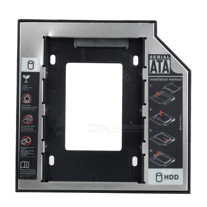 "12.7mm 2.5"" SATA to SATA HDD / SSD Caddy for Optical Drive"