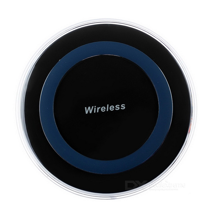 Wireless QI Charger for Samsung Galaxy S6 / Galaxy S6 Edge - Black