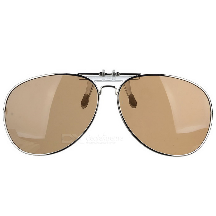 Cool Color Clip-on Polarized Sunglasses Lens