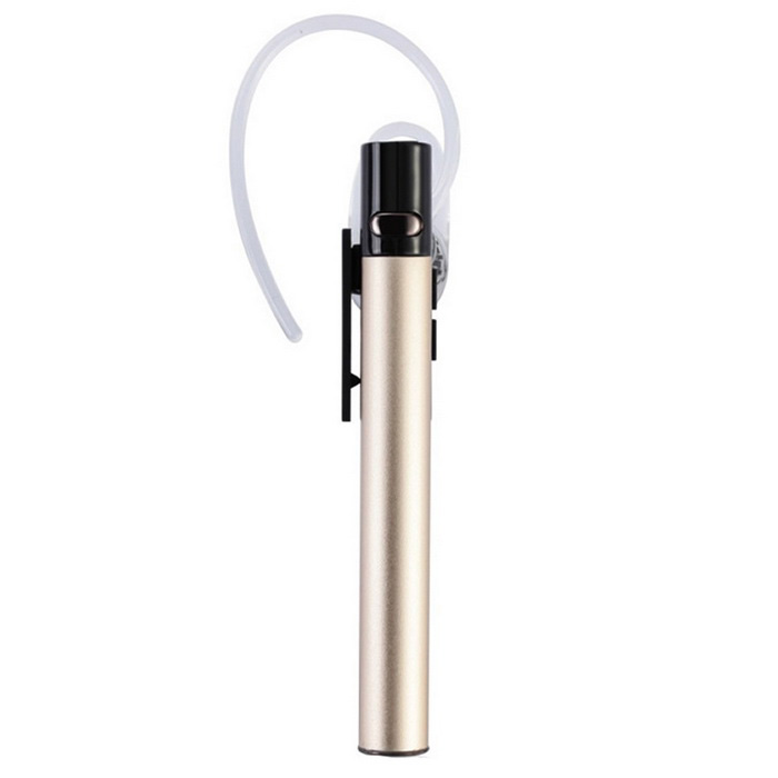 R600 Stereo Bluetooth In-ear Unilateral Hodetelefon m / Mic - Champagne
