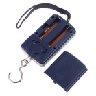 Digital Hanging Luggage Fishing Weight Scale - Dark Blue (10g~40Kg)