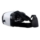 Virtual Reality 3D Glasses Box w / Bluetooth Controller - Blanc