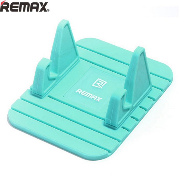 Buy Remax Universal Soft Silicone Car Mount Holder for Cellphone - Blue with Litecoins with Free Shipping on Gipsybee.com