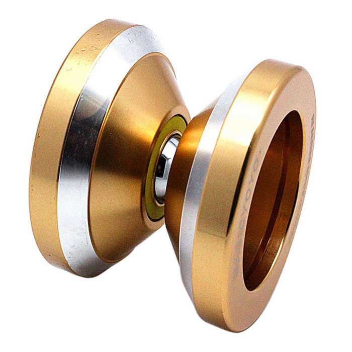 Aviation Aluminum Alloy Yo-Yo - Golden for sale in Bitcoin, Litecoin, Ethereum, Bitcoin Cash with the best price and Free Shipping on Gipsybee.com