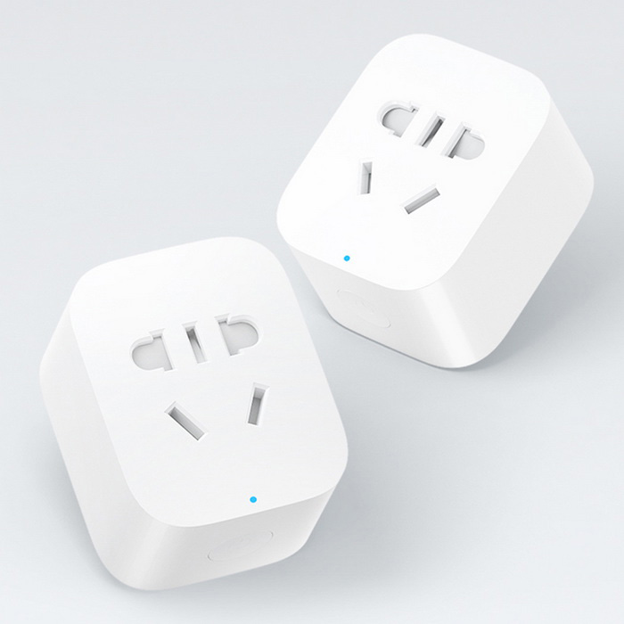 Buy Xiaomi Home Wi-Fi Wireless Basic Ver. Smart Power Socket Plug - White (US Plug) with Litecoins with Free Shipping on Gipsybee.com