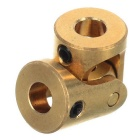 Mini 3 * 3mm Brass Universal Joint for R / C Toy DIY - Brass Color