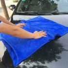 ZIQIAO CZ-74 Microfiber Car Cleaning Cloth Handduk - Blå (160 * 60cm)