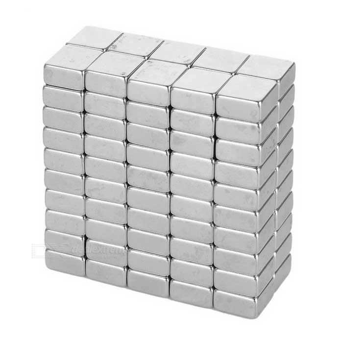 F10 * 10 * 5mm Square NdFeB Magnet - Silver