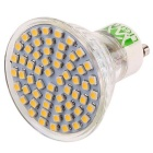 YWXLIGHT GU10 4W 60-3528 SMD varmvita LED spotlight (220 ~ 240V)