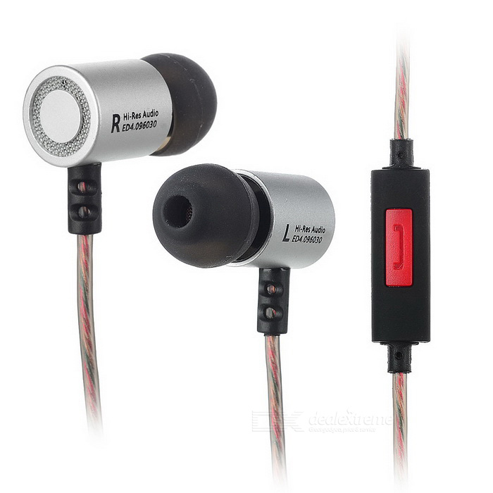 KZ ED4 Wired HiFi Subwoofer Earphones with Mic - Silvery White + BrownHeadphones<br>Form  ColorSilver white + brownModelED4MaterialMetal + TPEQuantity1 DX.PCM.Model.AttributeModel.UnitShade Of ColorBlackHeadphone StyleIn-EarConnectionWired,3.5mm WiredCable Length125 DX.PCM.Model.AttributeModel.UnitSensitivity98dBRemoteYesWith MicrophoneBuilt-inDriver Unit9.6mm Dual unitsFrequency Response15~29000HzImpedance16 DX.PCM.Model.AttributeModel.UnitChannels2.0Connector3.5mmLeft &amp; Right Calbes TypeEqual LengthVolume ControlNoPacking List1 * Earphone2 * Small earbud caps2 * Middle earbud caps (already on the earphone)2 * Large earbud caps<br>