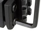 Optisk Sight Gun Jernbane lommelykt Laser Mount for M16, M4A1 - Sort