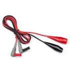 MASTECH T5201 Certification UL 2KV Test Clamp Probe - Noir + Rouge