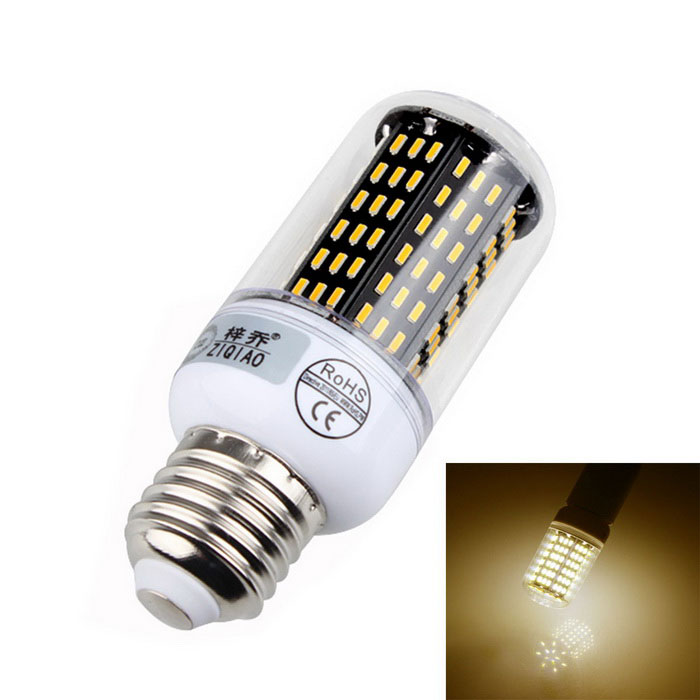 ZIQIAO YM4012 E27 12W LED Warm White Light Bulb - Black (AC 220~240V)E27<br>Form  ColorBlack + Translucent + Multi-ColoredColor BINWarm WhiteModelYM4012MaterialPlastic + aluminumQuantity1 DX.PCM.Model.AttributeModel.UnitPower12WRated VoltageAC 220-240 DX.PCM.Model.AttributeModel.UnitConnector TypeE27Chip BrandOthers,-Chip Type4014Emitter TypeOthers,4014 SMD LEDTotal Emitters138Theoretical Lumens1200~1440 DX.PCM.Model.AttributeModel.UnitActual Lumens1200~1320 DX.PCM.Model.AttributeModel.UnitColor Temperature12000K,Others,3300KDimmableNoBeam Angle360 DX.PCM.Model.AttributeModel.UnitPacking List1 * LED bulb<br>