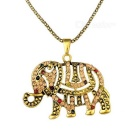 Collana donne Elephant Decorative Style - ottone