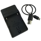 FM50 Micro USB Mobile Camera Battery Charger - Black