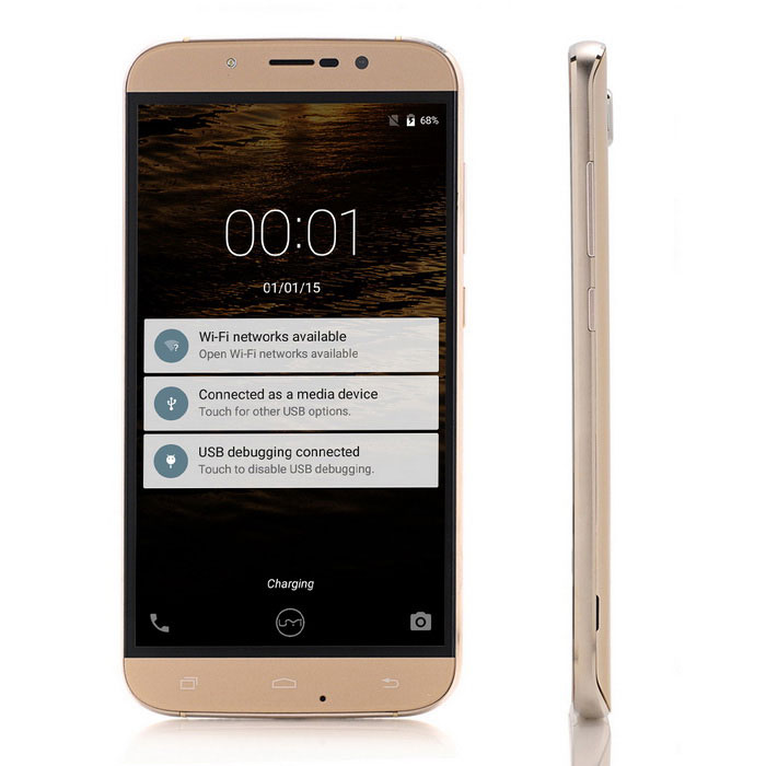 "UMI ROME X Android 5.1 Phone w/ 5.5"" Screen, 1GB RAM, 8GB ROM - Golden"