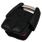 Qook Entry Key Kauko Fob Shell Case 3 -painike VW - musta