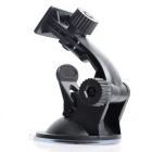 ZIQIAO CZ-85 Car Navigation Support GPS Suction Cup Bracket - Black