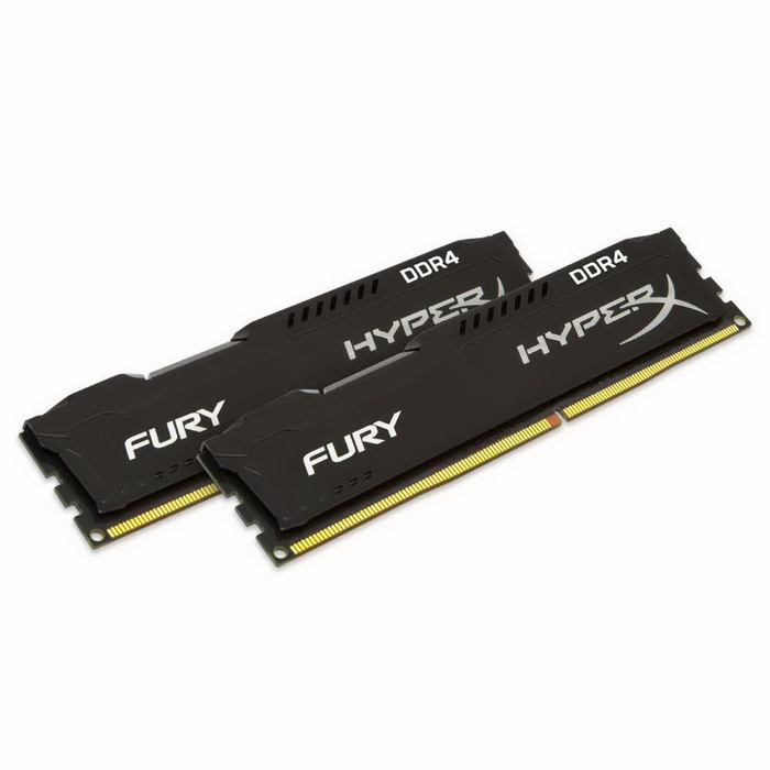 Buy Kingston Technology HyperX FURY Black HX424C15FB2K2/16 Internal Memory with Litecoins with Free Shipping on Gipsybee.com