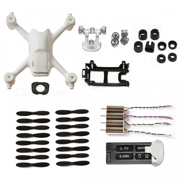 Hubsan H107C+-06 RC Accessory Kit for Hubsan H107C+ - White