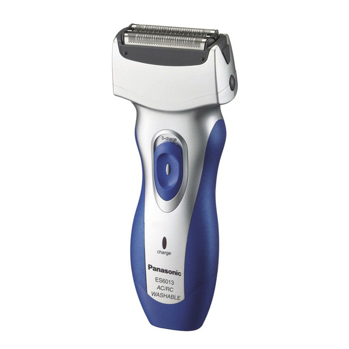 Genuine Panasonic ES-6013 Rechargeable Shaver - Blue