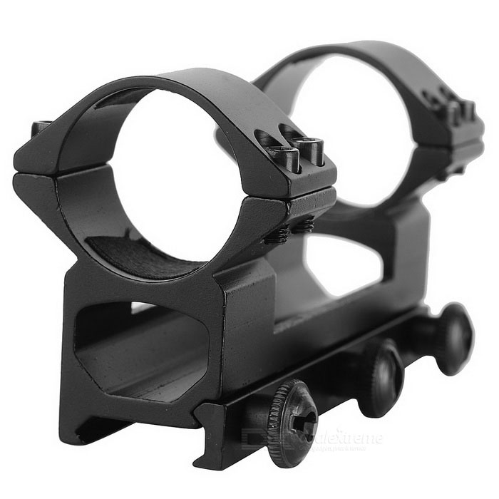 L3006 30mm Dual Rings Gun Sight Scope Mount for M40 / M16 - Black