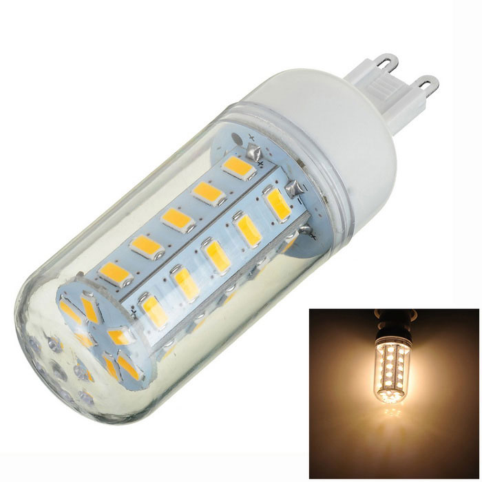 G9 5W 400lm 3000K 36-SMD 5730 Bombilla LED blanca caliente