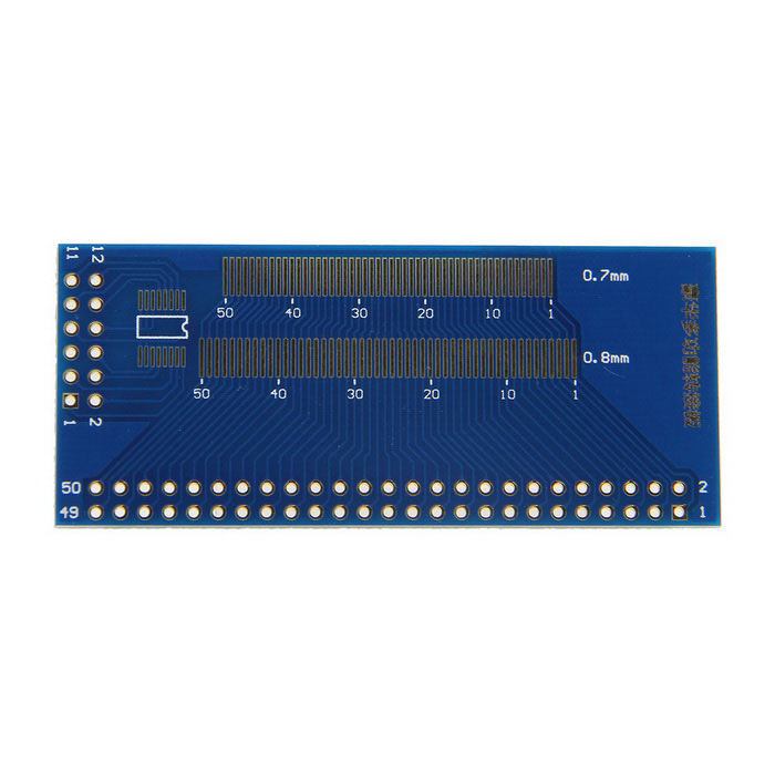 DIY LCD TFT Touch Screen Multifunction Test Adapter Plate - Blue