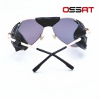 OSSAT Polarized Mountaineering Driving Sunglasses - Golden + Grey